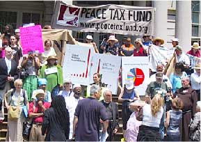 Peace Tax Fund Rally