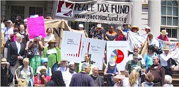 Peace Tax Foundation Rally