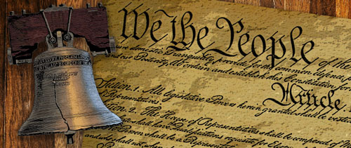 US Constitution clipping