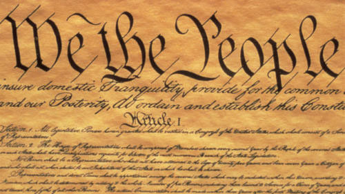 US Constitution cropped image